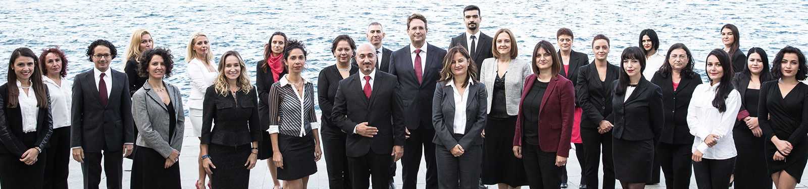 Photo showing FMC Group's Istanbul team together