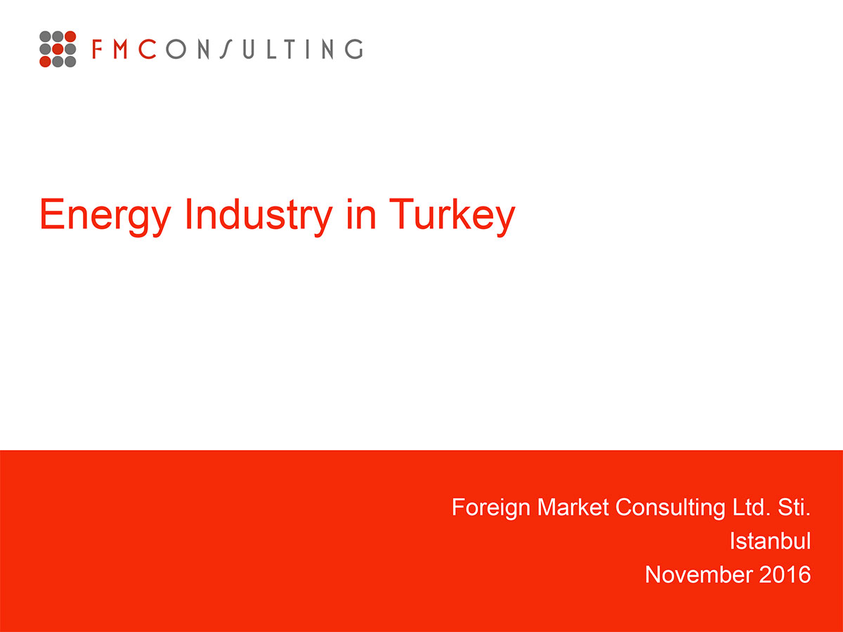 energy industry in turkey