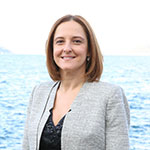 Portrait of Berna Gurleyen, Head of Competence Centre-Research Services at FMC Group
