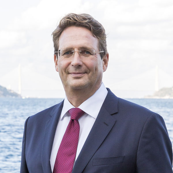 Portrait of Peter Heidinger, Managing Partner at FMC Group