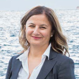 Portrait of Yesim Tektasli, Partner at FMC Group