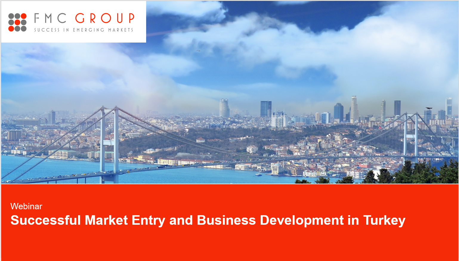 """Cover page of Webinar """"Successful Market Entry and Business Development in Turkey"""""""